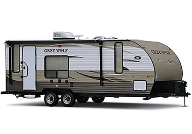 New 2015 Forest River Grey Wolf 26C Travel Trailer For Sale